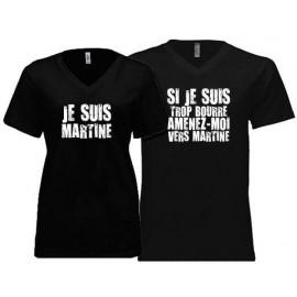 tee shirt pour couple cuite en couple a personnalise