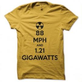 tee shirt gigawatts retour vers le futur