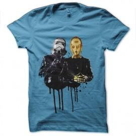 t-shirt star wars daft punk c3po