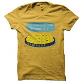 tee shirt serial cooker attention