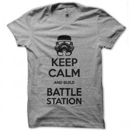 tee shirt keep calm battle station star wars