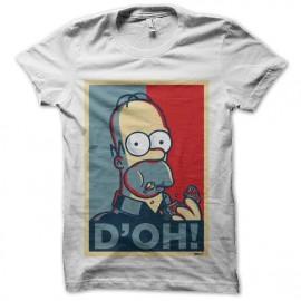 tee shirt homer simpson doh