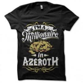 tee shirt warcraft azeroth fortune
