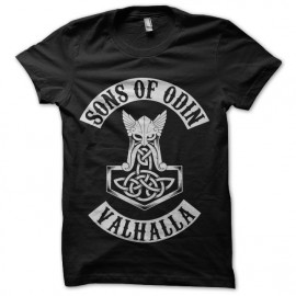 Tee shirt vikings valhalla sons