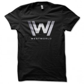 Tee shirt Westworld logo chrome
