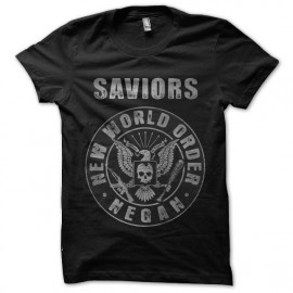 the saviors walking dead t-shirt