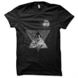 tee shirt homme sur la lune astonaute