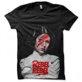tee shirt star wars princesse leila rocks
