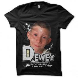 tee shirt dewey malcolm poupi trash shirt