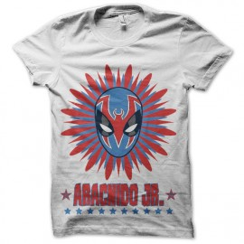 tee shirt catch mexicain aracnido