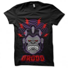 tee shirt grodd electro monkey