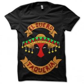tee shirt deadpool mexicain taqueria