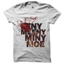 tee shirt walking dead EENY, MEENY, MINY, MOE negan