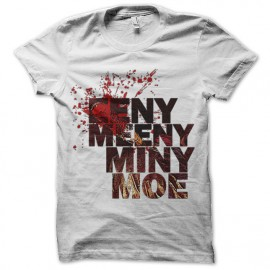 walking dead EENY, MEENY, MINY, MOE negan t-shirt
