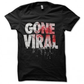 t-shirt walking dead gone viral