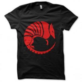 tee shirt into the badlands baron logo