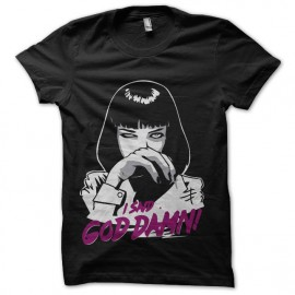 tee shirt pulp fiction mia wallace damn