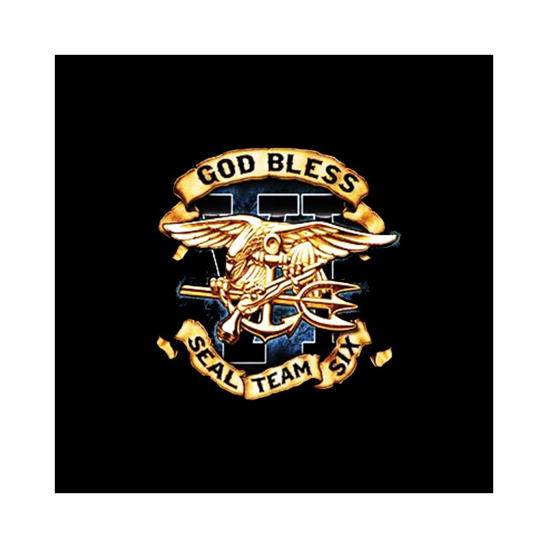 t-shirt god bless navy seal team six