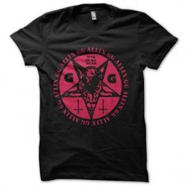 tee shirt gg allin rock sataniste