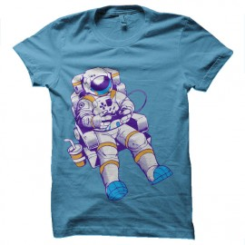 Astronaut gamer geek t-shirt
