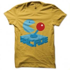 tee shirt paddle arcade pacman