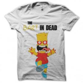 t-shirt bart the dead parody