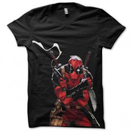 tee shirt deadpool special furieux