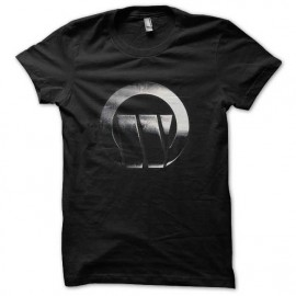 tee shirt largo winch logo chrome