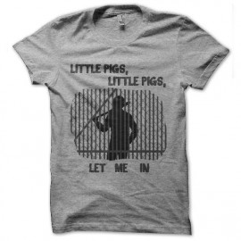tee shirt walking dead negan little pig