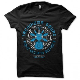 tee shirt ghost in the shell tachioma squad