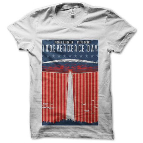 tee shirt independence day affiche