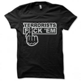 tee shirt anti terroriste vulgaire