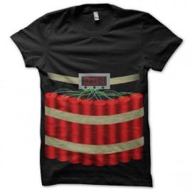 tee shirt ceinture explosive
