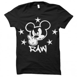 tee shirt Mickey RAW