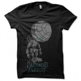 tee shirt hsg2 marvin androide paranoiaque