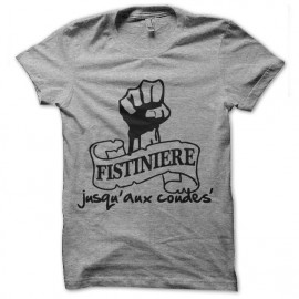 tee shirt la fistiniere logo aux coudes