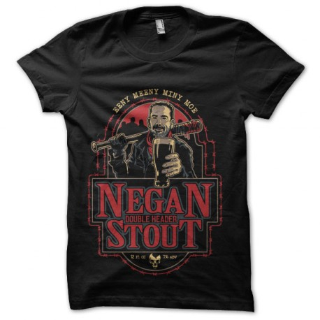 tee shirt negan biere walking dead