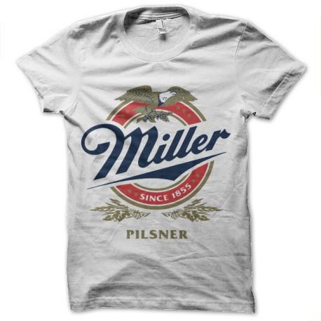 tee shirt miller pilsner biere