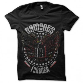 tee shirt ramones forever
