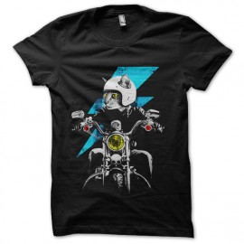 tee shirt chat motard