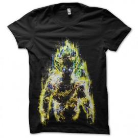 tee shirt super sayan electro dragon ball
