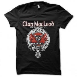 tee shirt clan macleod higlander