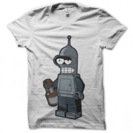 tee shirt bender alcoolique futurama