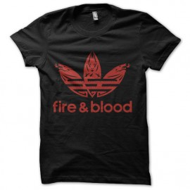 tee shirt fire and blood game of thrones