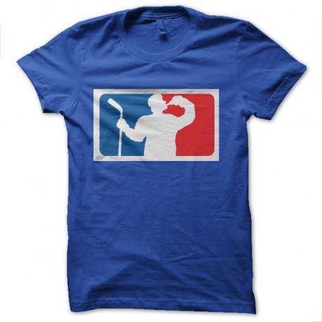 tee shirt hockey alcoolique