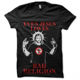 tee shirt bad religion jesus aime