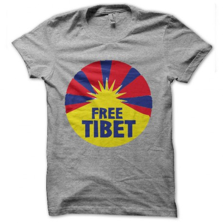 tee shirt free tibet anti chine