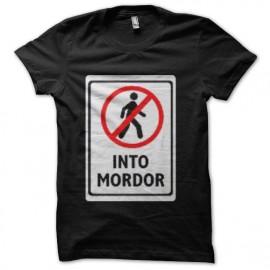 tee shirt into mordor tolkien
