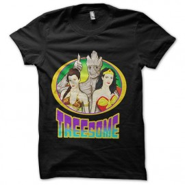 tee shirt marvell treesome groot