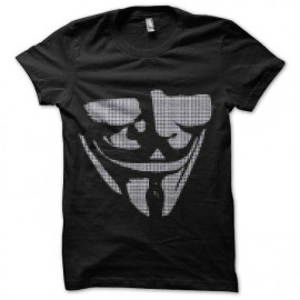tee shirt anonymous trame